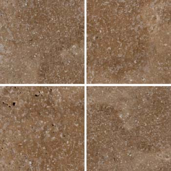 selected natural stone tile samples
